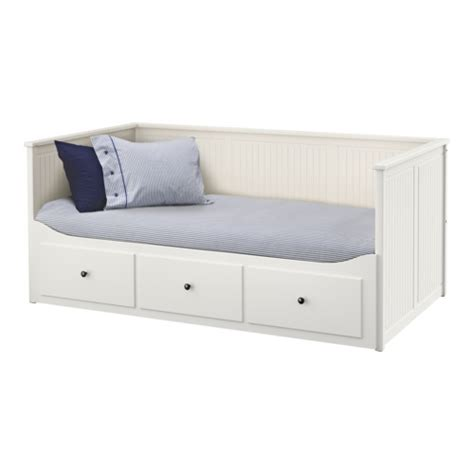 White Bed Frame With Drawers Hemnes Day Bed Frame With 3 Drawers White Ikea