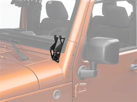 Sale Glowkit Seri D how to install rigid industries dual d series a pillar light mount kit on your jeep wrangler