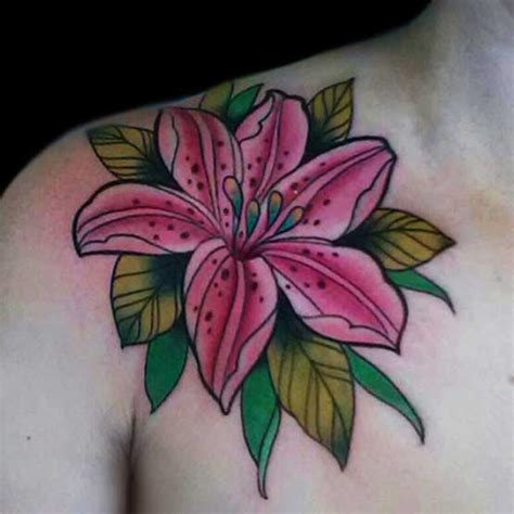 flower tattoo pictures and meanings lily flower tattoo designs meanings ink pinterest