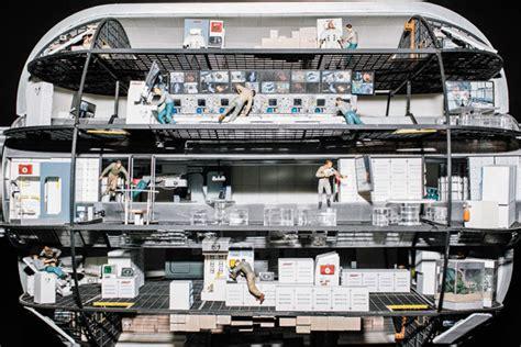 International Space Station Interior Layout by Afflictor 183 Robert Bigelow