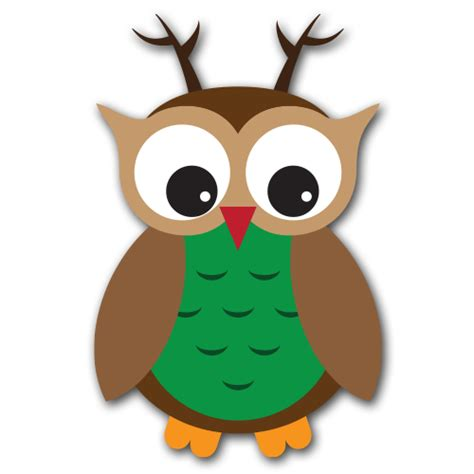 christmas owl pictures owl clipart clipart suggest
