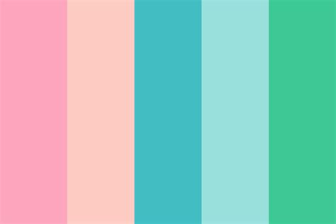 90s colors 90s dental office color palette