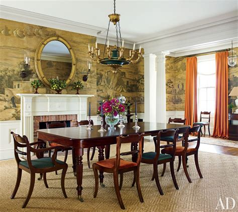 traditional dining room by g p schafer architect ad