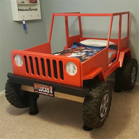 jeep bed plans jeep bed plans twin size car bed two pinterest car