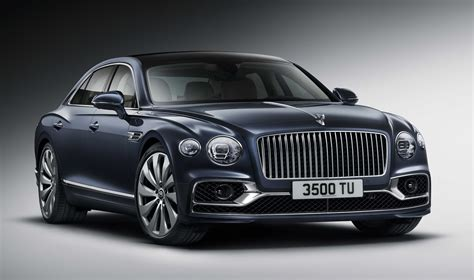 2020 bentley flying spur is sporty and stately in a single