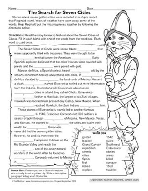 Explorers Worksheets by 1000 Images About Explorers Unit On Trading