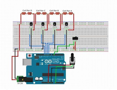 3d printed stepper motor 3d printed stepper motor arduino project hub