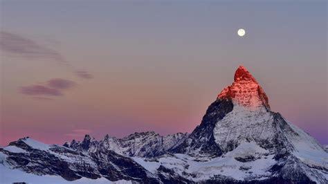 mountain peak desktop pc  mac wallpaper