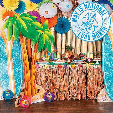 Hawaiian Decorations Ideas by Luau Supplies Luau Ideas Hawaiian Theme