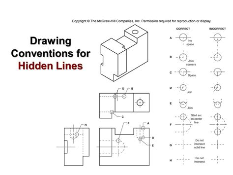 5 Drawing Conventions Relating To Dimensions technical graphics communication multiview drawings part