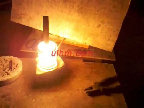 induction heating of graphite induction heat d10mm graphite cylinder by um 10a uhf united induction heating machine limited of