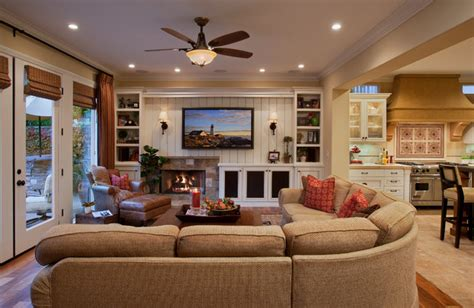 houzz family room ideas mediterranean haven traditional family room orange