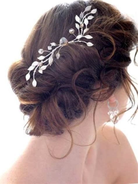Hair Accessories For Wedding Updos by The Most Trendy Wedding Hair Accesories And Wedding