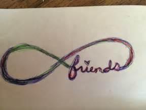 Infinity Symbol Friendship Infinity Friendship Tattoos