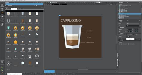 qml layout animation qt quick designer the coffee machine qt blog
