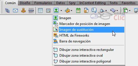 insertar imágenes html de fireworks curso gratis de dreamweaver cs5 aulaclic 2 el entorno