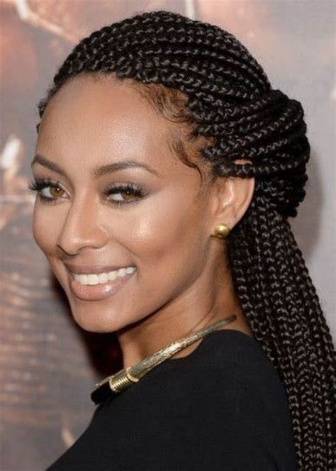 black woman twist hair styles up in pony tails box braids hairstyles for black women 2018