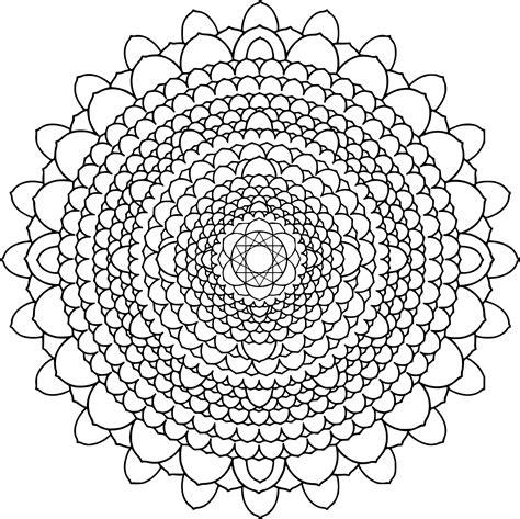 Coloriage Mandala Difficile Dessin 224 Imprimer Sur Dessin Gratuit Coloriage L