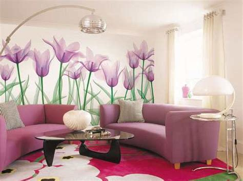 floral living room ideas your home