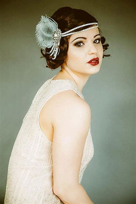 1920 s flapper tutorial diy vintage inspired headband flapper headpiece vintage inspired bridal headband the