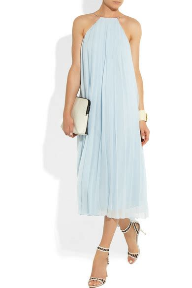 Friday Afternoon Dresses From Net A Porter tibi pleated silk georgette dress net a porter