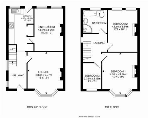 semi detached house floor plan captivating three bedroom semi detached house plan gallery best inspiration home design