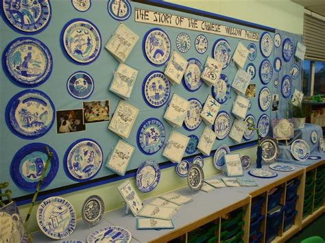 willow pattern artist chinese willow pattern art projects pinterest