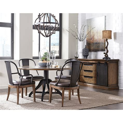 pulaski dining room pulaski furniture weston loft casual dining room group