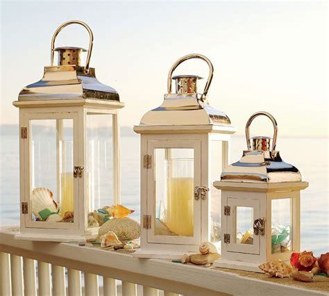 lanterns for home decor beach decorating with lanterns create a cozy atmoshphere