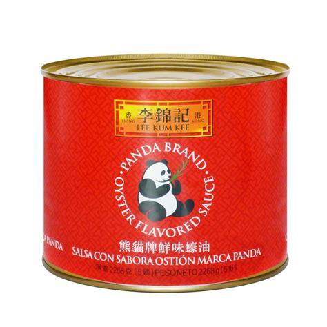 Kum Kee Oyster Panda 2 2 Kg salsa con sabor a ostras panda kum kee 2 268 kg