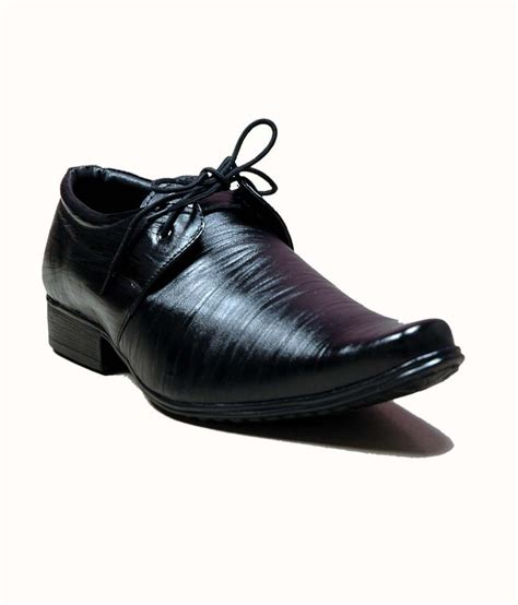 M C Clasic Black at classic black formal shoes price in india buy at