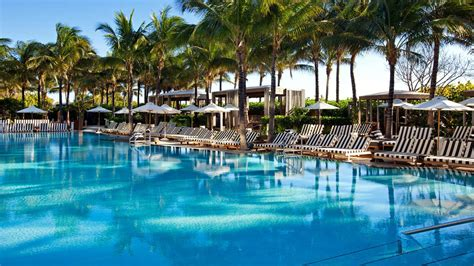 hotel miami miami s most glamorous hotel pools