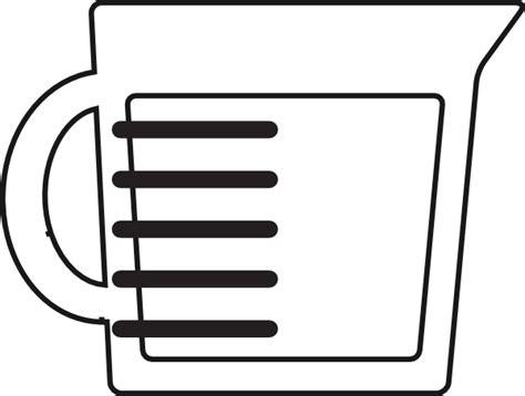 measuring cup clipart liquid measuring cup clip at clker vector clip