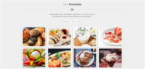 Pistacia Premium Responsive Chef Food Html5 Template Chef Portfolio Template Free