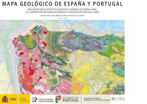 imagenes satelitales para geologia blog idee toda la geolog 237 a de espa 241 a y portugal en un mapa