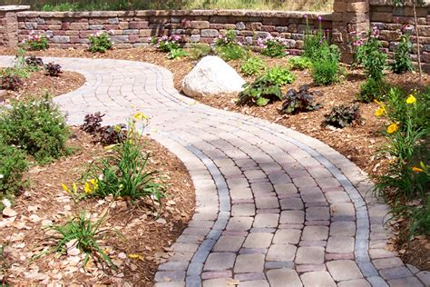 backyard pathways twin cities custom walkways patios pathways and