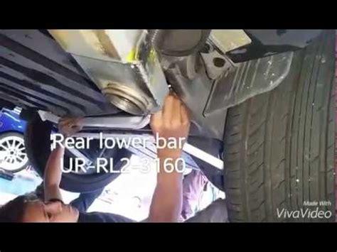 Strutbar Stabilizer Ultra Racing Toyota Harrier 2014 toyota vellfire installed ultra racing strut bar doovi