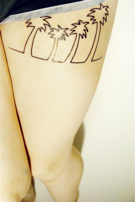 tattoo pain tramadol palm trees tattoo skin is not the limit pinterest