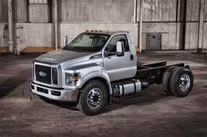 2016 Ford Trucks 2016 Ford F 650 F 750 Trucks Unveiled Autoevolution