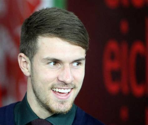 arsenal s aaron ramsey haircut haircut for men 17 best images about hair on pinterest pique undercut
