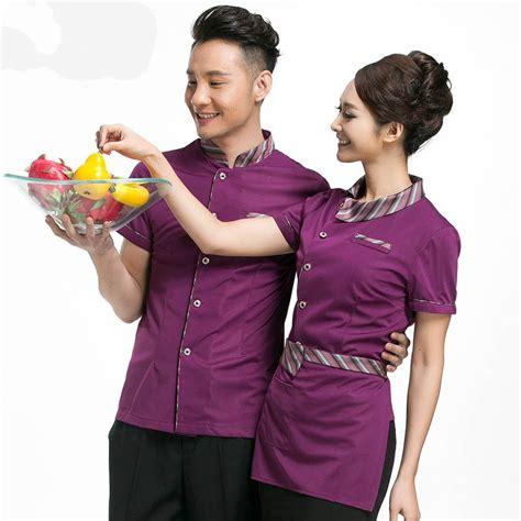 Seragam Waiter waitress restaurant waiter hotel