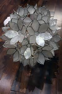Diy Shell Chandelier How To Make A Diy Hanging Capiz Shell Pendant Chandelier