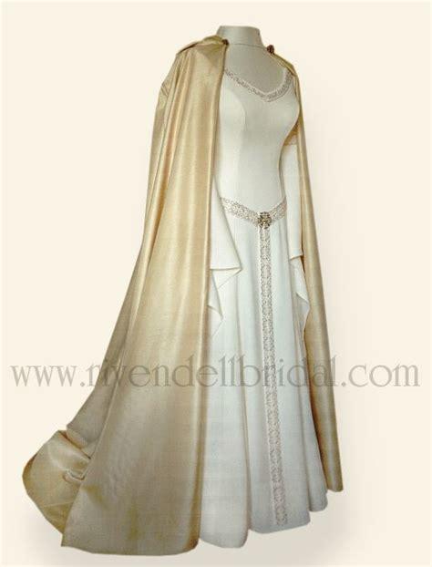 rivendell wedding dresses influenced  medieval