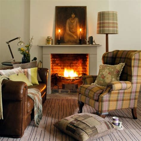 armchair throws uk living room with tartan armchair and throws decorating with checks tartans