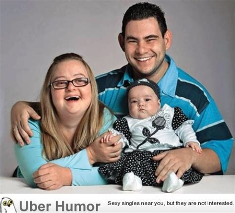 mother with downs syndrome father with slight mental