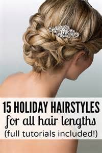 easy holiday hairstyles holiday hairstyles easy hairstyles