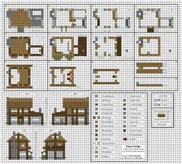minecraft house plans poppy cottage medium minecraft house blueprints by