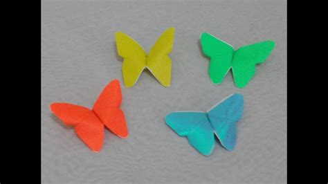 Origami Butterfly Simple - easy origami butterfly