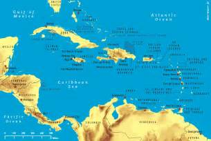Caribbeans Map by Rationale For Select Destinations Chapter 4 2016