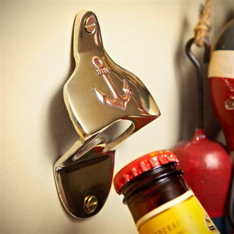 anchor bottle opener wall mount anchors away wall mounted bottle opener